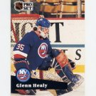 1991-92 Pro Set French Hockey #153 Glenn Healy - New York Islanders