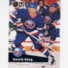 1991-92 Pro Set French Hockey #146 Derek King - New York Islanders