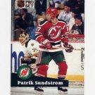 1991-92 Pro Set French Hockey #141 Patrik Sundstrom - New Jersey Devils