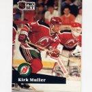 1991-92 Pro Set French Hockey #134 Kirk Muller - New Jersey Devils