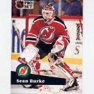 1991-92 Pro Set French Hockey #132 Sean Burke - New Jersey Devils