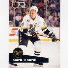 1991-92 Pro Set French Hockey #107 Mark Tinordi - Minnesota North Stars