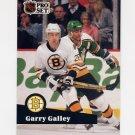 1991-92 Pro Set French Hockey #007 Garry Galley - Boston Bruins