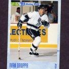 1993 Classic Hockey #128 Ivan Droppa - Chicago Blackhawks