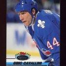 1993-94 Stadium Club Hockey #152 Gino Cavallini - Quebec Nordiques