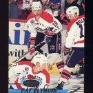 1993-94 Stadium Club Hockey #049 Pat Elynuik - Washington Capitals