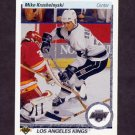 1990-91 Upper Deck Hockey #394 Mike Krushelnyski - Los Angeles Kings
