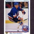 1990-91 Upper Deck Hockey #390 Gerald Diduck - New York Islanders