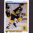 1990-91 Upper Deck Hockey #377 Glen Wesley - Boston Bruins