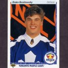 1990-91 Upper Deck Hockey #361 Drake Berehowsky RC - Toronto Maple Leafs
