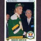 1990-91 Upper Deck Hockey #359 Derian Hatcher RC - Minnesota North Stars