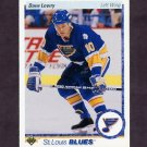 1990-91 Upper Deck Hockey #349 Dave Lowry RC - St. Louis Blues