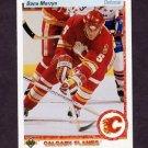 1990-91 Upper Deck Hockey #348 Dana Murzyn - Calgary Flames