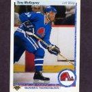 1990-91 Upper Deck Hockey #340 Tony McKegney - Quebec Nordiques