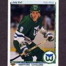 1990-91 Upper Deck Hockey #322 Jody Hull RC - Hartford Whalers