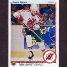 1990-91 Upper Deck Hockey #290 Janne Ojanen RC - New Jersey Devils
