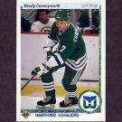 1990-91 Upper Deck Hockey #268 Randy Cunneyworth - Hartford Whalers