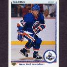 1990-91 Upper Deck Hockey #225 Rob DiMaio RC - New York Islanders