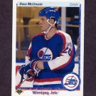 1990-91 Upper Deck Hockey #216 Dave McLlwain - Winnipeg Jets