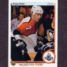 1990-91 Upper Deck Hockey #155 Craig Fisher RC - Philadelphia Flyers