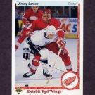 1990-91 Upper Deck Hockey #132 Jimmy Carson - Detroit Red Wings