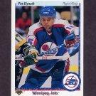 1990-91 Upper Deck Hockey #074 Pat Elynuik - Winnipeg Jets