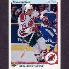 1990-91 Upper Deck Hockey #070 Sylvain Turgeon - New Jersey Devils