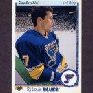 1990-91 Upper Deck Hockey #038 Gino Cavallini - St. Louis Blues