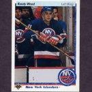 1990-91 Upper Deck Hockey #016 Randy Wood - New York Islanders