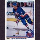1990-91 Upper Deck Hockey #007 Doug Crossman - New York Islanders