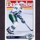 1992-93 Upper Deck Hockey #323 James Black - Hartford Whalers