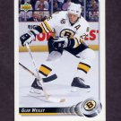 1992-93 Upper Deck Hockey #244 Glen Wesley - Boston Bruins
