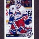 1992-93 Upper Deck Hockey #217 Bob Essensa - Winnipeg Jets