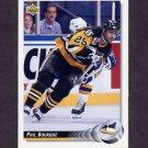 1992-93 Upper Deck Hockey #141 Phil Bourque - Pittsburgh Penguins