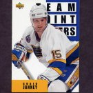 1993-94 Upper Deck Hockey #303 Craig Janney TL - St. Louis Blues