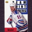 1993-94 Upper Deck Hockey #298 Mark Messier TL - New York Rangers
