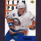 1993-94 Upper Deck Hockey #297 Pierre Turgeon TL - New York Islanders