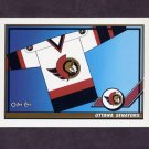 1991-92 O-Pee-Chee Hockey #527 Ottawa Senators Logo
