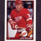 1991-92 O-Pee-Chee Hockey #508 Steve Chiasson - Detroit Red Wings