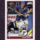 1991-92 O-Pee-Chee Hockey #448 Adam Oates - St. Louis Blues