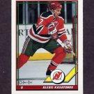 1991-92 O-Pee-Chee Hockey #439 Alexi Kasatonov - New Jersey Devils
