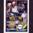 1991-92 O-Pee-Chee Hockey #429 Dino Ciccarelli - Washington Capitals