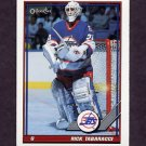 1991-92 O-Pee-Chee Hockey #375 Rick Tabaracci - Winnipeg Jets