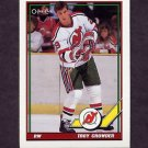1991-92 O-Pee-Chee Hockey #374 Troy Crowder - New Jersey Devils