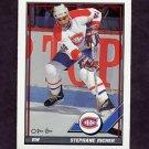 1991-92 O-Pee-Chee Hockey #369 Stephane Richer - Montreal Canadiens