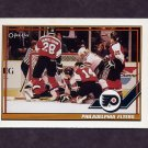 1991-92 O-Pee-Chee Hockey #329 Philadelphia Flyers Team