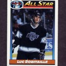 1991-92 O-Pee-Chee Hockey #260 Luc Robitaille AS - Los Angeles Kings