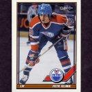 1991-92 O-Pee-Chee Hockey #193 Petr Klima - Edmonton Oilers