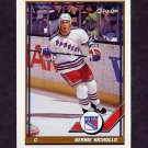 1991-92 O-Pee-Chee Hockey #174 Bernie Nicholls - New York Rangers
