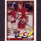1991-92 O-Pee-Chee Hockey #151 Gary Suter -  Calgary Flames